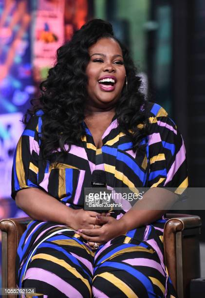 Amber Riley attends the Build Series to discuss the new film 'Nobody's Fool' at Build Studio on October 29 2018 in New York City