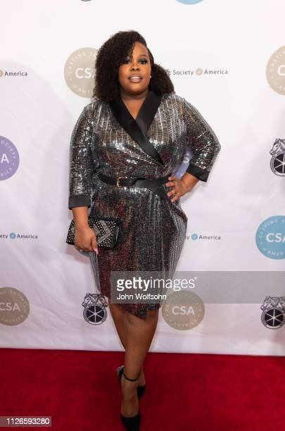 Amber Riley attends The Casting Society of America's 34th Annual Artios Awards at The Beverly Hilton Hotel on January 31 2019 in Beverly Hills...