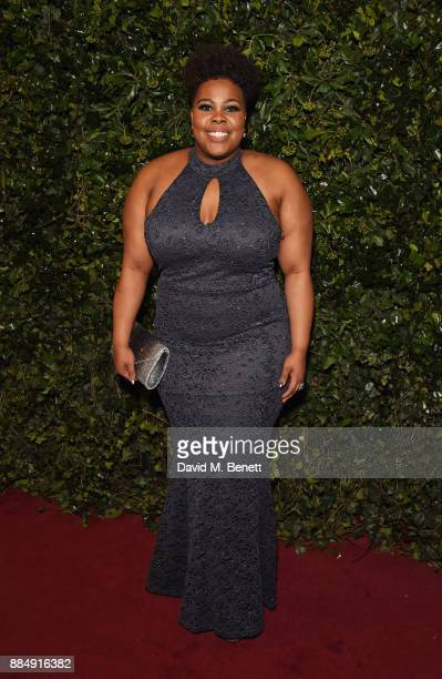 Amber Riley attends the London Evening Standard Theatre Awards 2017 at the Theatre Royal Drury Lane on December 3 2017 in London England
