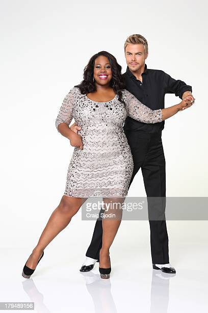 HOUGH Amber Riley partners with Derek Hough 'Dancing with the Stars' returns for Season 17 on MONDAY SEPTEMBER 16 on the ABC Television Network