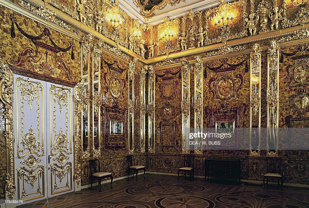 Amber Room or Amber Chamber... Pictures | Getty Images