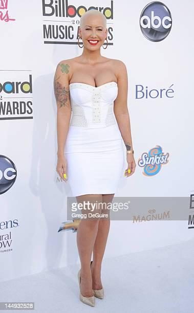Amber Rose arrives at the 2012 Billboard Music Awards at MGM Grand on May 20, 2012 in Las Vegas, Nevada.