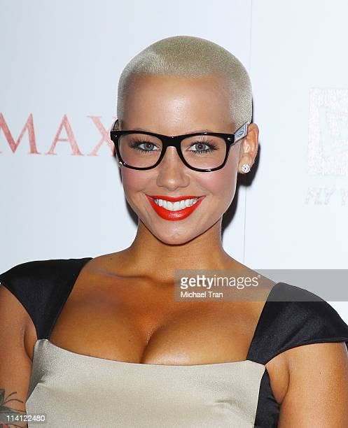 Amber Rose arrives at the Maxim Hot 100 Party held at Eden on May 11, 2011 in Hollywood, California.