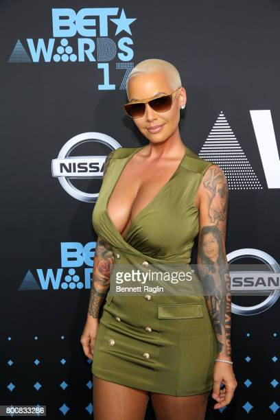Amber Rose at the 2017 BET Awards at Staples Center on June 25 2017 in Los Angeles California