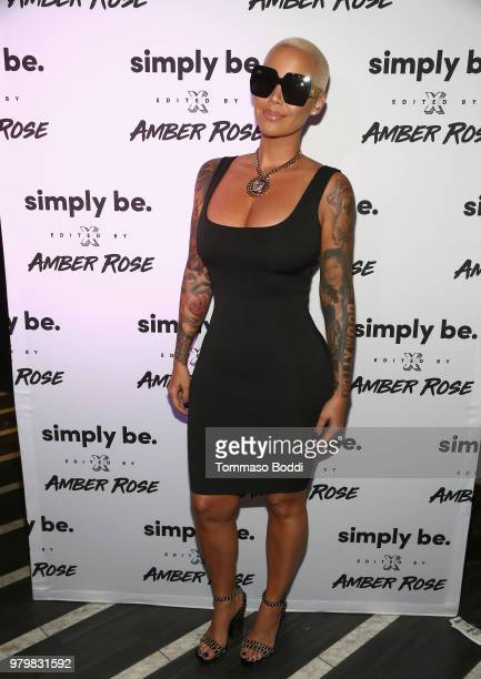 Amber Rose attends Amber Rose x Simply Be Launch Party at Bootsy Bellows on June 20 2018 in West Hollywood California