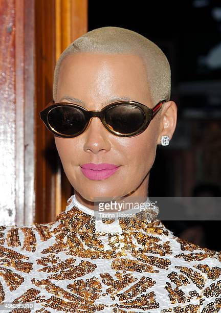 Amber Rose attends Kat Graham and Quincy's performance at the Troubadour at Troubadour on November 21 2015 in West Hollywood California
