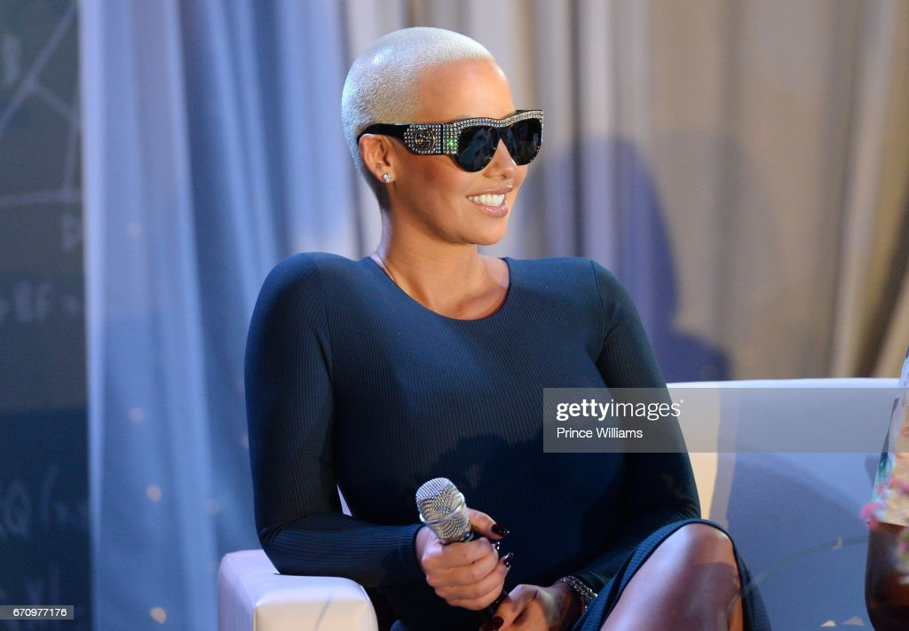 Amber Rose Joins 'KYST' Aids Awareness Tour For Atlanta : News Photo