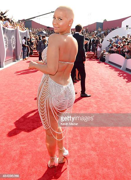 Amber Rose attends the 2014 MTV Video Music Awards at The Forum on August 24 2014 in Inglewood California