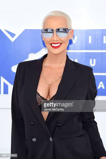 Amber Rose attends the 2016 MTV Video Music Awards at Madison Square Garden on August 28 2016 in New York City