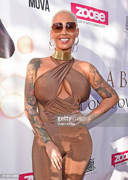 Amber Rose attends the Amber Rose and Zoobe SXSW event on March 13 2016 in Austin Texas