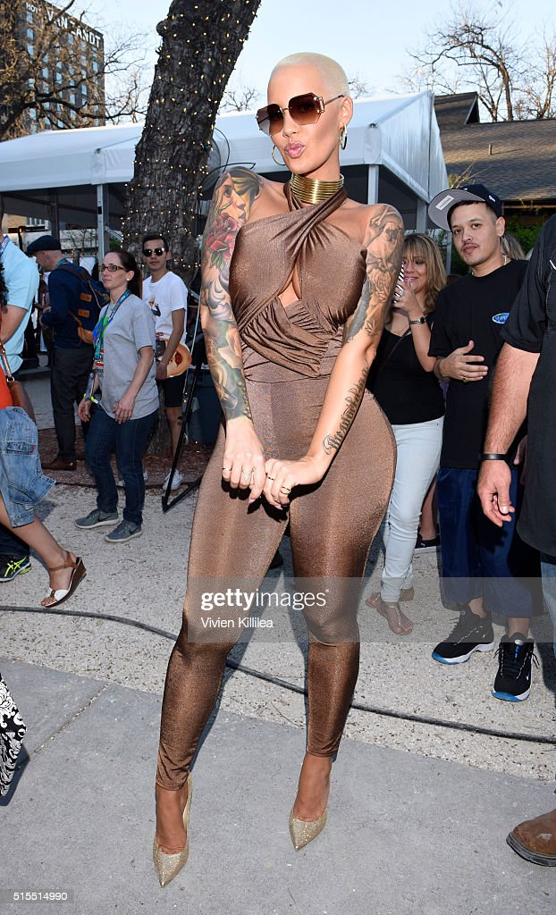 Amber Rose And Zoobe SXSW Event