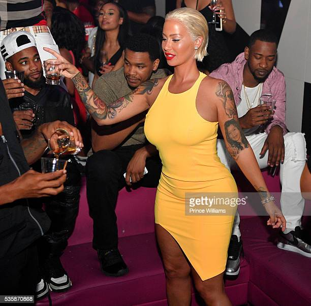 Memorial Weekend Grand Finale Amber Rose Black White Affair Pictures