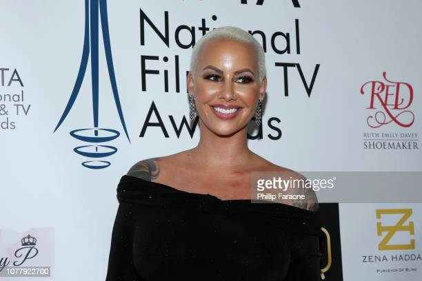 Amber Rose attends the National Film and Television Awards Ceremony at Globe Theatre on December 05, 2018 in Los Angeles, California.