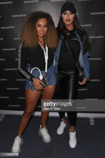 Amber Rose Gill and Anna Vakili attending the boohooMAN x DENO Launch Party held at Thorpe Park The theme park was closed exclusively for the event...