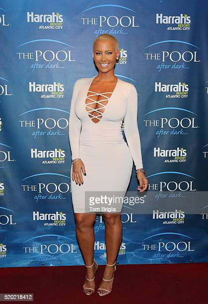 Amber Rose hosted The Pool After Dark Harrah's Atlantic City on April 9 2016 in Atlantic City NJ