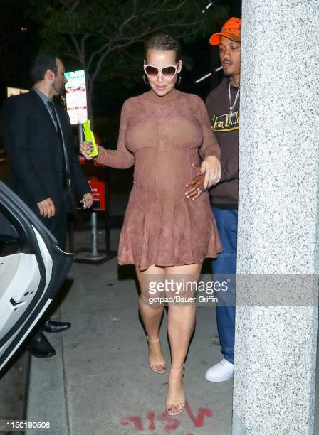 Amber Rose is seen on June 15, 2019 in Los Angeles, California.