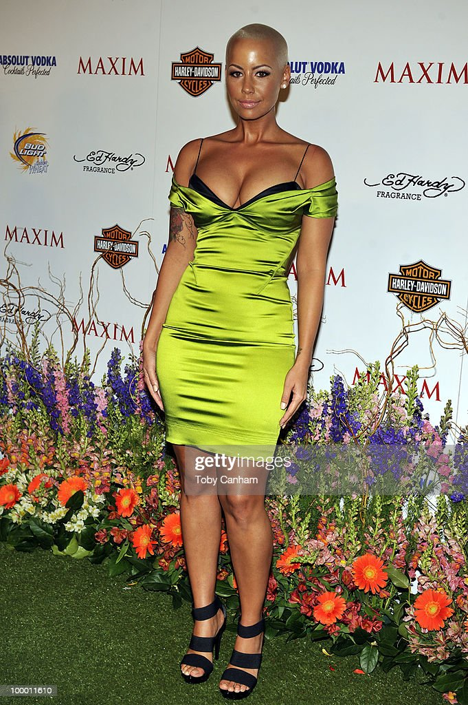 Amber Rose poses for a picture at the 11th Annual Maxim Hot 100 Party on May 19, 2010 in Los Angeles, California.