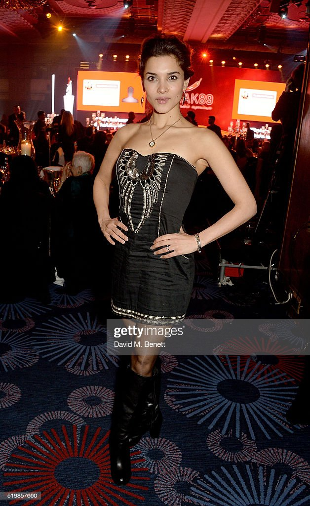 Amber Rose Revah attends the 6th Annual Asian Awards at The Grosvenor House Hotel on April 8, 2016 in London, England.