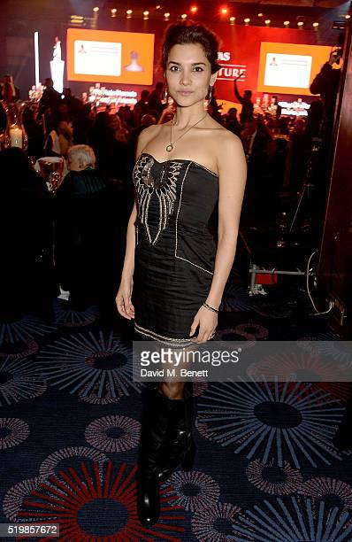 Amber Rose Revah attends the 6th Annual Asian Awards at The Grosvenor House Hotel on April 8 2016 in London England