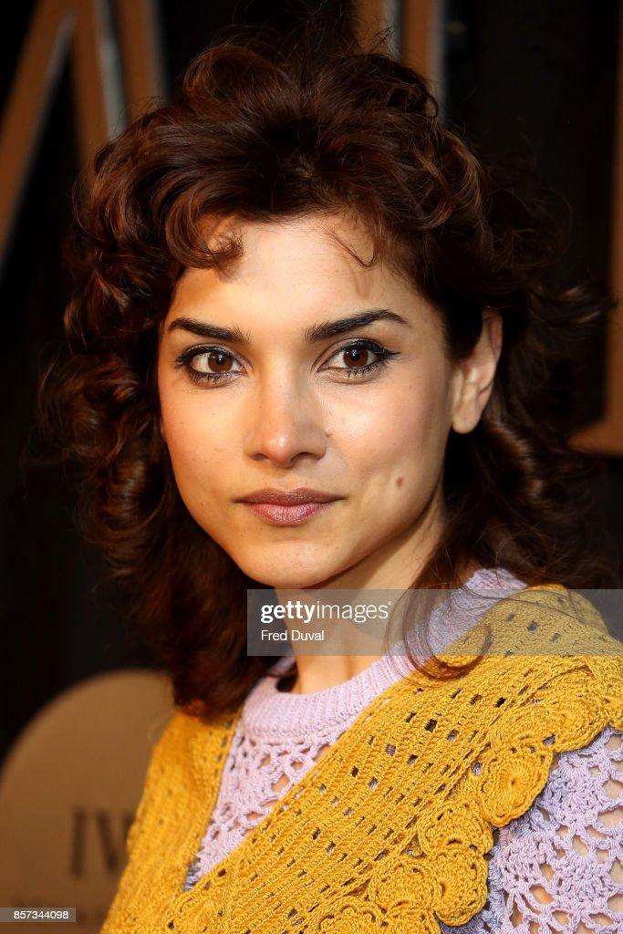 Amber Rose Revah attends the BFI Luminous Fundraising Gala at The Guildhall on October 3, 2017 in London, England.