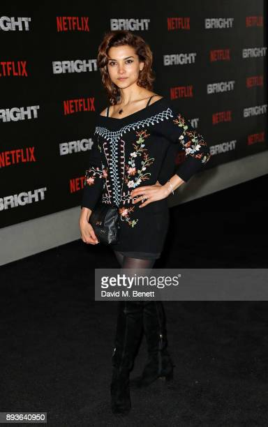 Amber Rose Revah attends the European Premeire of 'Bright' held at BFI Southbank on December 15 2017 in London England