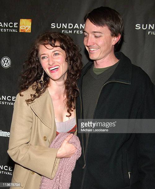 Amber Rose Sealey and Ben Thoma during 2007 Sundance Film Festival 'The Good Night' Premiere at Eccles in Park City Utah United States
