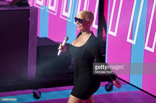 Amber Rose speaks onstage during the VH1 Hip Hop Honors All Hail The Queens at David Geffen Hall on July 11 2016 in New York City