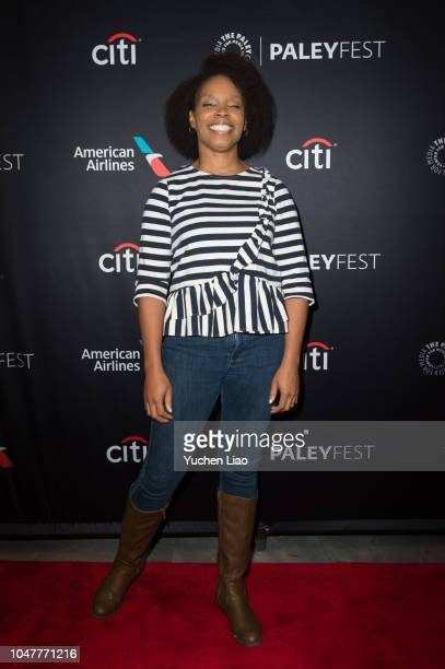 Amber Ruffin attends 'Drunk History' 2018 Paleyfest NY at The Paley Center for Media on October 8 2018 in New York City