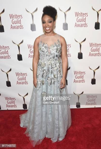 Amber Ruffin attends the 2018 Writers Guild Awards at Edison Ballroom on February 11 2018 in New York City