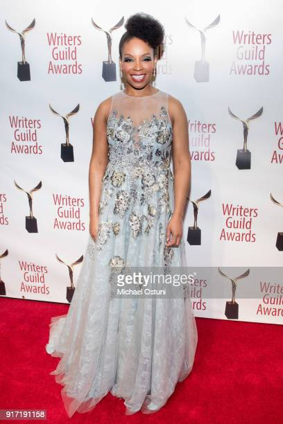 Amber Ruffin attends the 2018 Writers Guild Awards NYC Ceremony on February 11 2018 in New York City