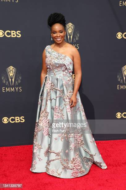 Amber Ruffin attends the 73rd Primetime Emmy Awards at L.A. LIVE on September 19, 2021 in Los Angeles, California.