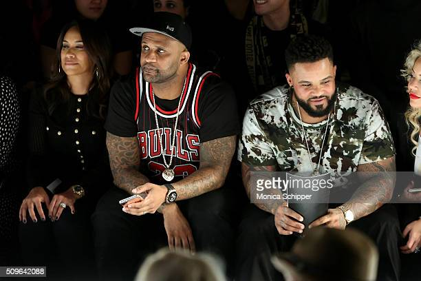 Amber Sabathia CC Sabathia and Prince Fielder attend the Rookie USA Presents Kids Rock Fall 2016 fashion show during New York Fashion Week The Shows...