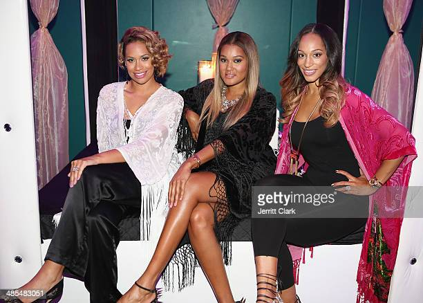 Amber Sabathia Elaina Watley and Alexis Stoudemire host Ladies Night In Benefiting Not For Sale on April 17 2014 in Alpine New Jersey