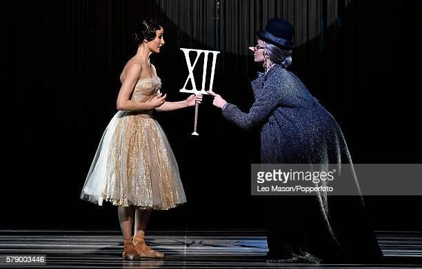 Amber Scott as Cinderella and Jasmin Durham as the Fairy Godmother The Australian Ballet Company present Alexei Ratmansky's Cinderella at The...