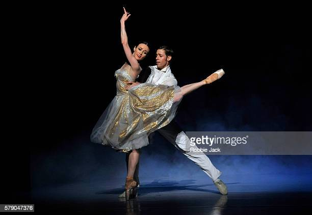 Amber Scott as Cinderella and Ty KingWall as The Prince in Australian Ballet's production of Alexei Ratmansky's Cinderella at The Coliseum July 20...