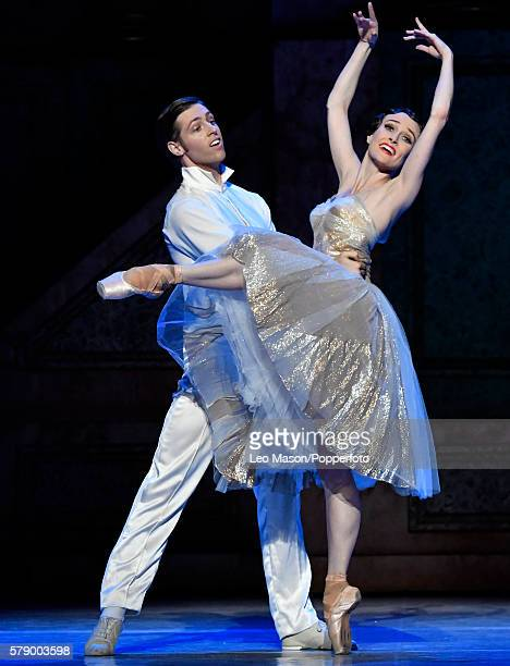 Amber Scott as Cinderella and Ty KingWolf as The Prince perform as The Australian Ballet Company present Alexei Ratmansky's Cinderella at The...