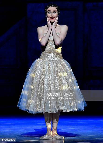 Amber Scott as Cinderella as The Australian Ballet Company present Alexei Ratmansky's Cinderella at The Coliseum Theatre on July 20 2016 in London...