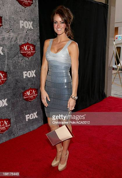 Amber Seyer arrives at the 2012 American Country Awards at the Mandalay Bay Events Center on December 10 2012 in Las Vegas Nevada