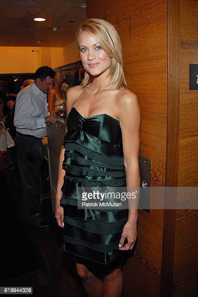 Amber Seyer attends LA PERLA CELEBRATES FALL 2008 COLLECTION at Rodeo Drive on October 22 2008 in Beverly Hills CA