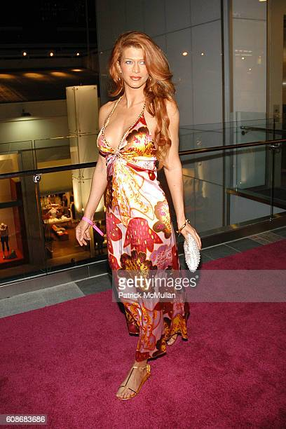 Amber Smith attends Harry Morton's Pink Taco Restaurant Celebrates the Opening of New Los Angeles Outpost at Pink Taco on June 28 2007 in Century...