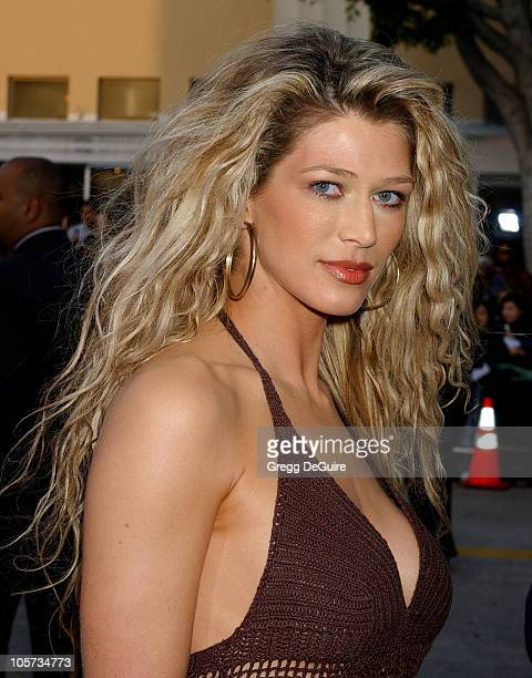 Amber Smith during House of Wax Los Angeles Premiere Arrivals at Mann Village Theatre in Westwood California United States