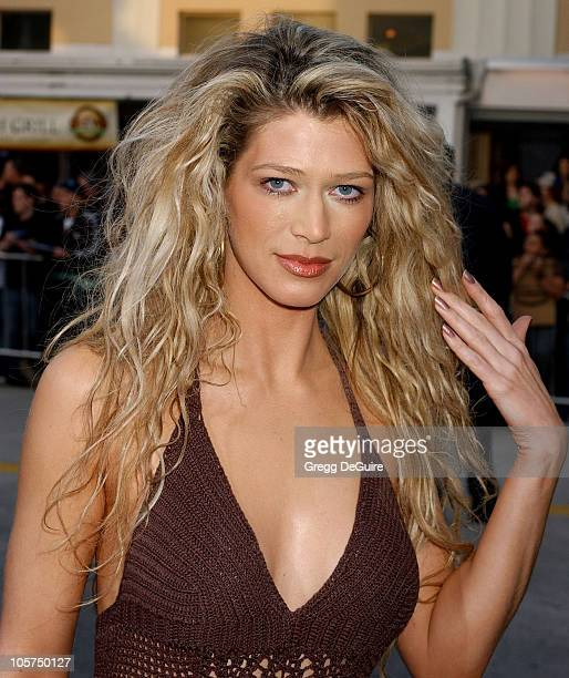 Amber Smith during 'House of Wax' Los Angeles Premiere Arrivals at Mann Village Theatre in Westwood California United States