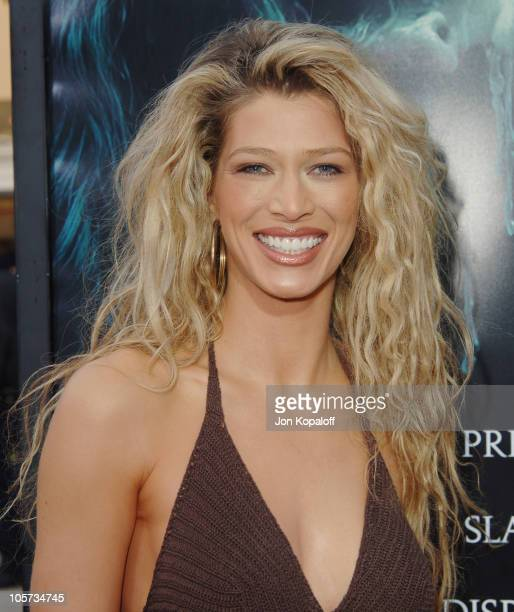 Amber Smith during 'House of Wax' Los Angeles Premiere Outside Arrivals at Mann Village Theater in Westwood California United States