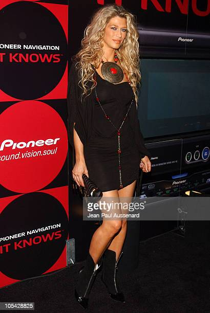 Amber Smith during Pioneer Electronics Automotive Navigation Systems Launch Party Arrivals at Montmartre Lounge in Hollywood California United States