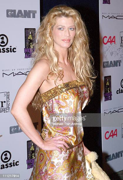 Amber Smith during Prospect Pictures Presents New 80's Tribute Musical 'Rock of Ages' Arrivals at The Vanguard Theatre in Hollywood California United...