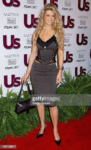 Amber Smith during US Weekly Jessica Simpson Celebrate The Young Hot Hollywood Style Awards at Element Hollywood in Hollywood California United States