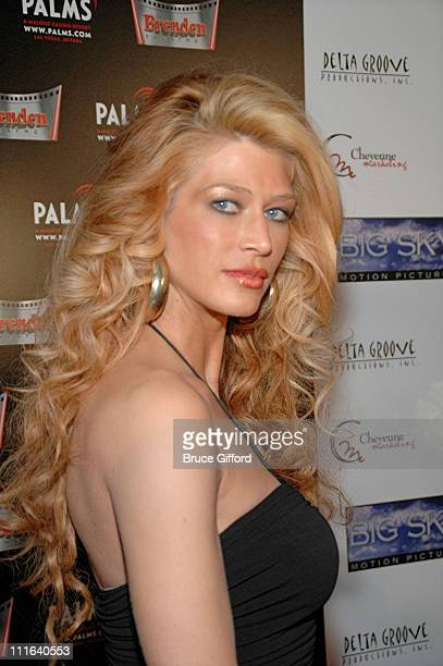 Amber Smith during 'What Love Is' Las Vegas Premiere Arrivals at Brenden Theatres at the Palms Casino Resort in Las Vegas Nevada United States