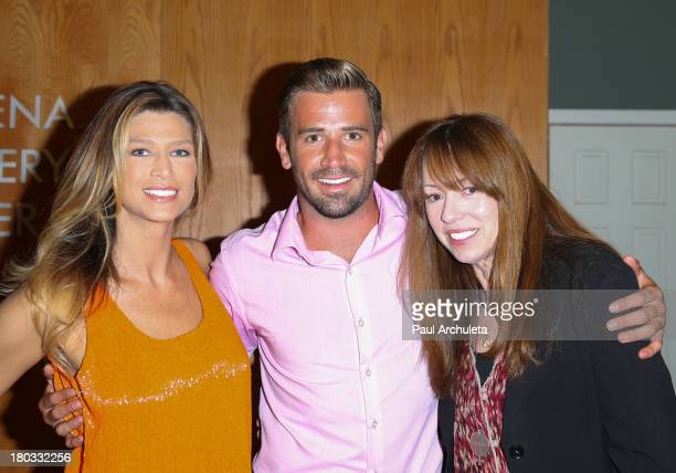Amber Smith Jason Wahler and Mackenzie Phillips attend the 'Celebrity Rehab Reunion' at The Pasadena Recovery Center on September 11 2013 in Pasadena...