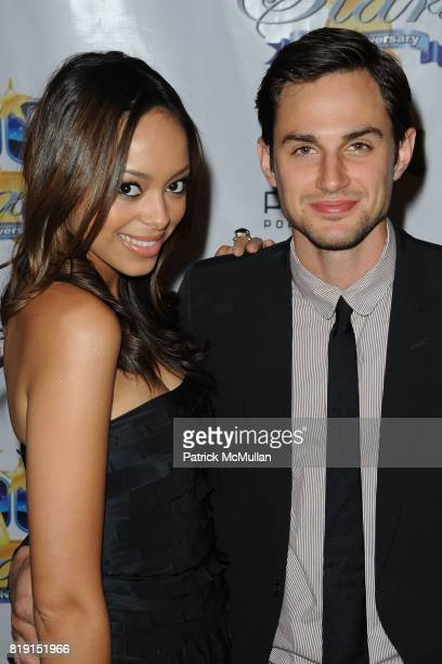 Amber Stevens and Andrew J West attend A Night Of 100 Stars at Beverly Hills Hotel on March 7 2010 in Beverly Hills California