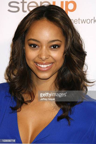 Amber Stevens arrives at Step Up Womens Network 2008 Inspiration Awards Luncheon on May 9 2008 at the Beverly Wilshire Hotel in Beverly Hills...